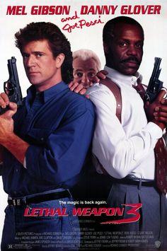 Lethal Weapon 3 (1992) USA Warner Action. D: Richard Donner. Mel Gibson, Danny Glover, Joe Pesci, Rene Russo. 04/05/05