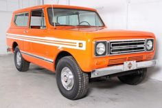 1979 International Harvester Scout II More like the one I gave credit... Still, they were armories...