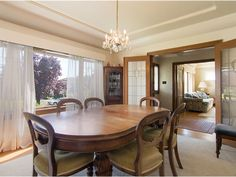 Photo 5: Photos: 2857 W 32ND Avenue in Vancouver: MacKenzie .Heights House for sale. Lovely leaded glass french doors and interesting ceiling detail