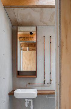 Indoor Courtyard, Tile Steps, Design Café, Cabin Design, Timber Beams, Traditional Doors, Ground Floor Plan, Diy Décoration, Custom Lighting