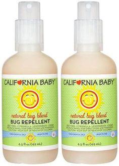 California Baby Natural Bug Blend Bug Repellent Spray - 6.5 oz - 2 pk