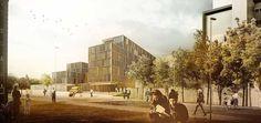 Viborg Regional Hospital, new acute treatment center  C.F. Møller