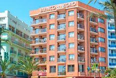 Appartementen Blanco y Negro - Aanbiedingen - GoLloretdeMar. Multi Story Building, Black And White