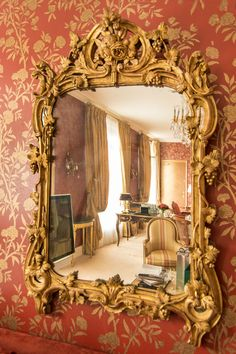 adrian-bryant-photography: Le Bristol Paris via} Me Floor Mirror, Wall Mirror, Mirrors, Le Bristol Paris, Mirror Photo Frames, Beautiful Buildings, Castles, Photography, Furniture