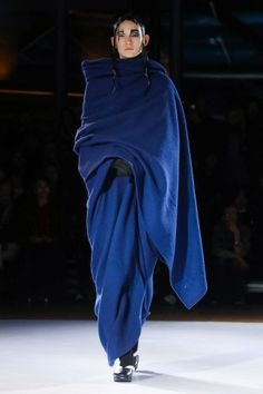 Kiki Georgiou reports on the Yohji Yamamoto show - Yohji Yamamoto @ Paris Womenswear A/W 2015 - SHOWstudio - The Home of Fashion Film