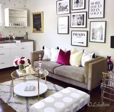 Hey Dolls! it's all been about decorating and re-doing the living room over here and I've put together my list of 10 ways to add that extra glam to your space and they also happen to be exactly how I am going about re-doing my space at the moment. They mostly consist of the smaller ways you can...