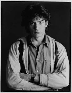 "Robert Mapplethorpe: photographer. ""I don't know why my pictures come out looking so good. I just don't get it.   Robert Mapplethorpe"""