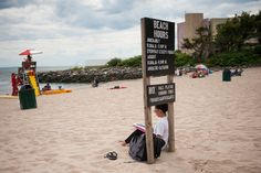 Kingsborough Community College in Brooklyn is a public college built on a beach! A College Beach Party With a Twist, and More Than a Few Wrinkles - NYTimes.com