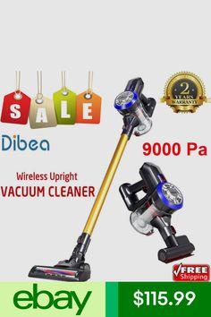 c18af41fa09 Dibea 2 in 1 Wireless Cordless Handheld Vacuum Cleaner Dual Motor Stick EU