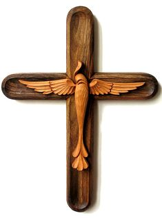 Wooden Cross  To Be Ordered Wood carving with a by dimitarmanev, $50.00