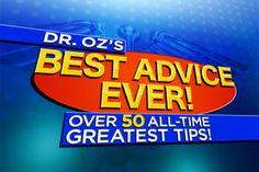 Win Dr. Oz's Best Products to Get Healthy!