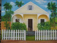 Art Oil    KEY WEST MEMORIES  by CeCisShop on Etsy, $149.95