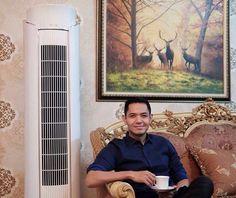 Alhamdulilah sekarang istirahat di ruang keluarga lebih nyaman. dengan adanya AC yang canggih ini, jadi betah berlama-lama melepas lelah sambil minum teh setelah seharian beraktifitas #180HariGantiBaru #PeloporACCanggih @greeindonesia