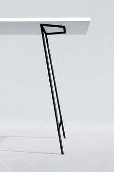 Nogi metalowe Tabela