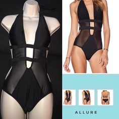 Sexy beach Allure swimwear great fit Brand new fit one piece swim suit Swim One Pieces