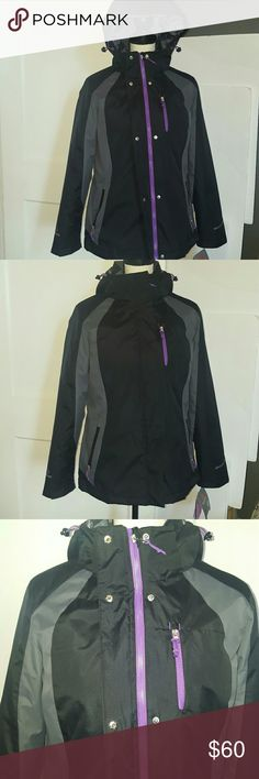 Free Country women's Radiance 3-in-1 system jacket Brand new with tags  3 in 1 systems 1. outer & inner jacket together 2. outer jacket 3. quilted inner jacket side zipper pockets  water and wind resistant  lightweight  durable superior comfort machine washable shell  100% nylon  lining 100% polyester Free Country Jackets & Coats