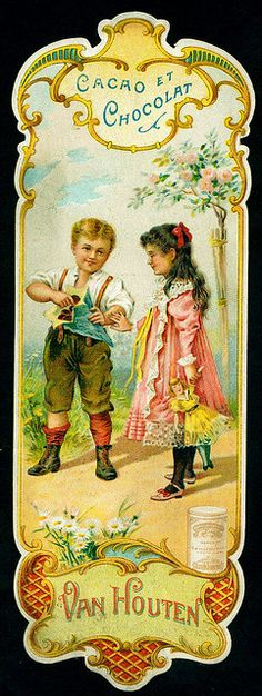 Van Houten Tradecard by cigcardpix, via Flickr