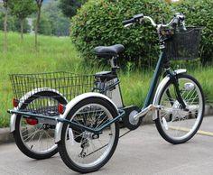 Foto de O pedal elétrico de China do baixo preço ajudou ao triciclo da carga para adultos em pt.Made-in-China.com