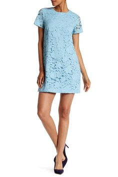 Kayte Short Sleeve Lace Dress by CeCe by Cynthia Steffe on @nordstrom_rack