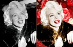 recolor-M.M-in-red-roses-by-Carla Fuchs by CarlaBabi.deviantart.com on @deviantART