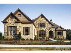 Brick and Stone front with arched windows