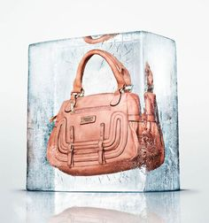 Photographs of Clothing and Accessories Frozen in Large Blocks of Ice pierreice 6