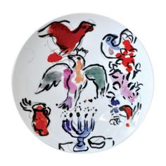 Bernardaud Marc Chagall Coupe Plate, Set of 6 | Bloomingdale's