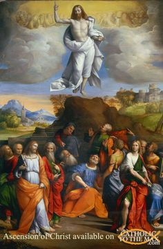 Ascension of Christ available on http://www.catholictothemax.com