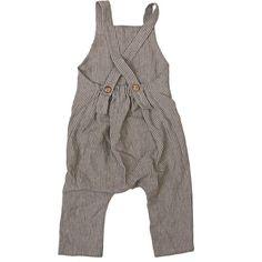 Harem Pants with suspender Boys linen romper Unisex kids Harem