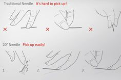 The 20° Needle Concept from Designers Huang- Yu Chen & Shih Ting Huang