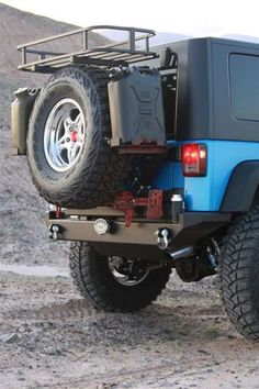 Rock Hard 4x4 Patriot Series Rear Bumper with Tire Carrier for Jeep Wrangler JK 2/4DR 2007 - 2016 [RH-5001]