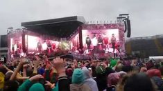 Intro Midnight Memories - One Direction Where We Are Tour Croke Park Dub...