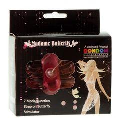 Butterfly Toys - Butterfly toysEstimulador feminino na forma de borboleta feito em Jelly soft, com pênis, estimulador de clitóris e estimulador de ânus além de potente vibrador, proporcionando intensas sensações de prazer para a mulher.