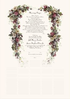 Marriage Certificate 38 | Certificate, Wedding certificate and ...
