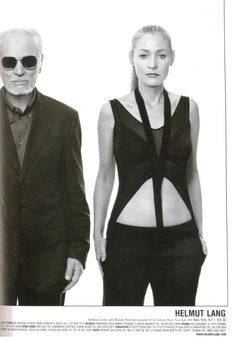 Helmut Lang : Fashion, Topics | The Red List