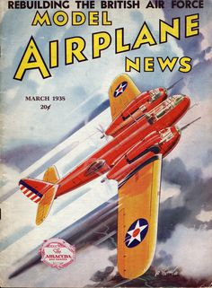 Model Airplane News March 1938