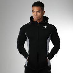 80120b5c3a407 Gymshark Fit Hooded Top - Black at Gymshark Roupas Masculinas, Masculino,  Cabelo, Hoodie