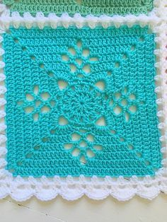 Ravelry: Arielle's Square Blan