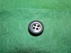 """1 - 1/2"""" 1851 I.R.C.Co. GOODYEAR RUBBER 4-HOLE BUTTON - VINTAGE Lot#NL334"""