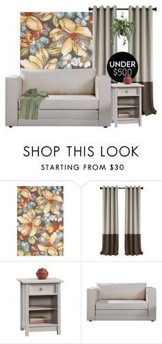 """""""Living Space"""" by patricia-dimmick ❤ liked on Polyvore featuring interior, interiors, interior design, home, home decor, interior decorating, Jaipur, Sauder, Nearly Natural and livingroom"""