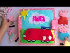 Quiet book Peppa Pig 1 - YouTube