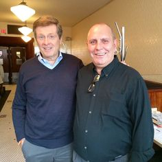 John Tory and Manager, John Vetere at The Lakeview Polo Shirt, T Shirt, Polo Ralph Lauren, Mens Tops, Fashion, Moda, Polos, Tee, Polo