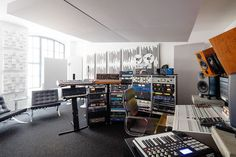 """miloco: """" Bieger Sound is the third studio that we have partnered with located in the centre of Berlin. Owned and operated by acclaimed producer/engineer Hannes Bieger, the high-end mixing and. Studio Layout, Studio Desk, Studio Setup, Home Studio, Music Recording Studio, Recording Studio Design, Arduino, Home Music Rooms, Sound Studio"""