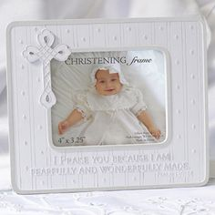 baby christening psalm frame from baby gifts and gift baskets