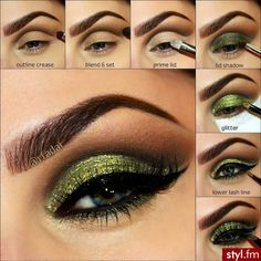 Green Eyes, Tutorial