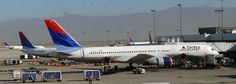 Salt Lake City International Airport - Delta Airlines Boeing 757-200