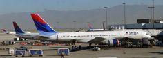 Salt Lake City International Airport - Delta Airlines Boeing 757-200