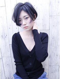 モリオ 池袋店(morio FROM LONDON) 【morio池袋】かっこいいおしゃれ黒髪ショート