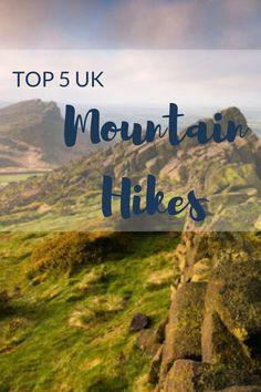 Top five UK mountain hikes - Snaptrip Uk Holidays, Mountain Hiking, Walks, About Uk, Challenge, Activities, Mountains, Travel, Viajes