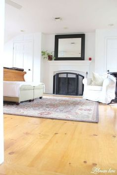 diy unfinished wide pine floors, diy, flooring, hardwood floors, woodworking projects